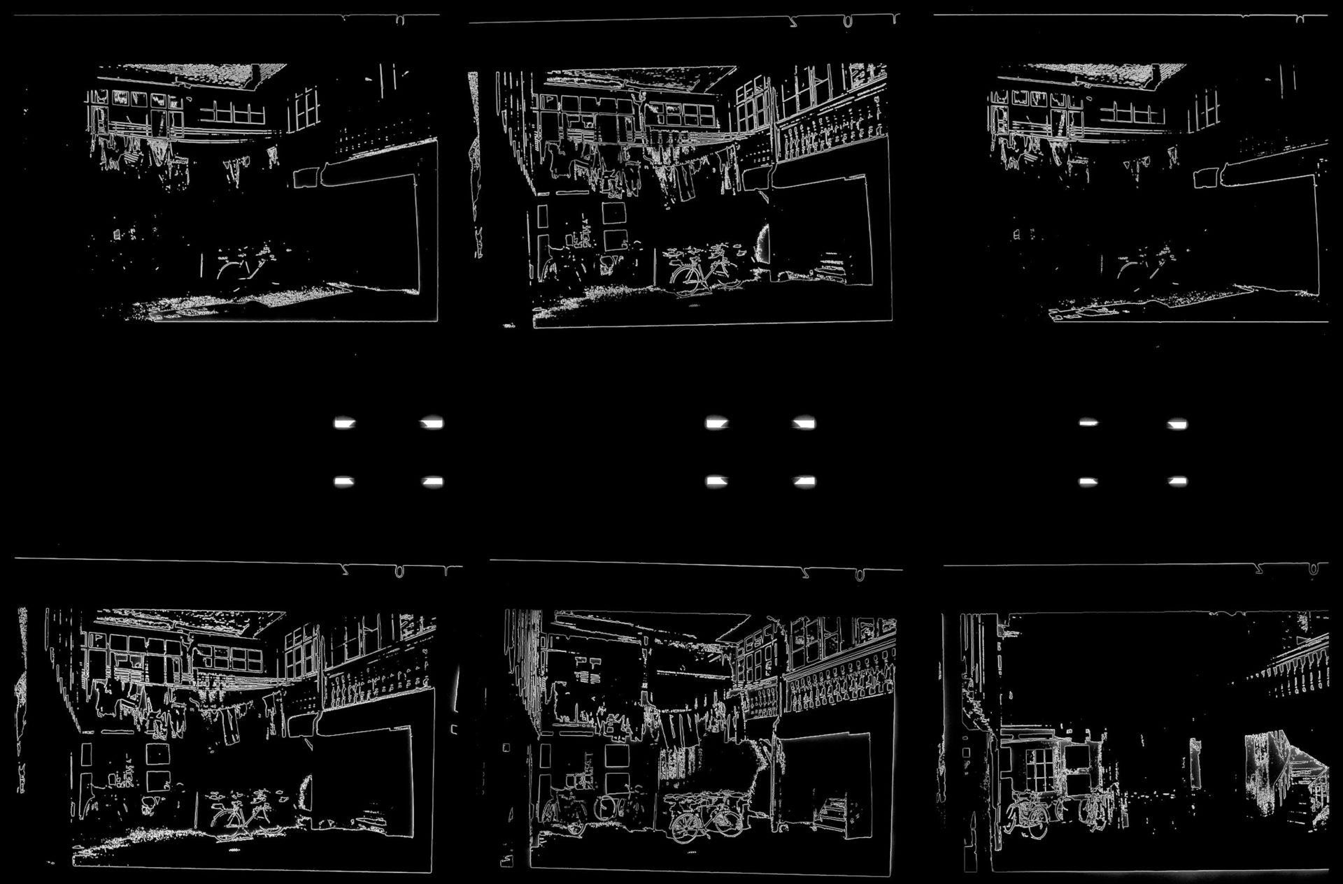 Pseudo-Solarisationen von den vorherigen Planfilmen